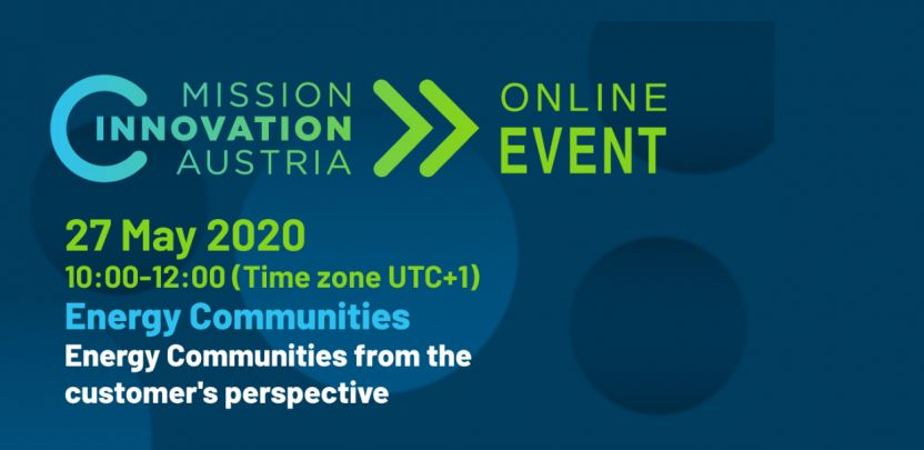 Mission Innovation Austria Online Event