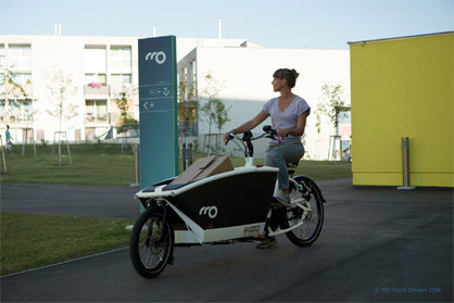 E-Lastenrad (© MO.Point GmbH)